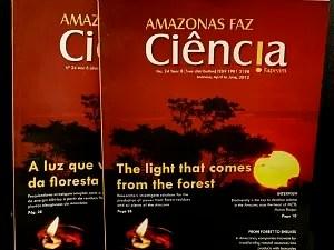 Revista foi lançada na Rio+20 (Foto: Ricardo Oliveira/Fapeam)