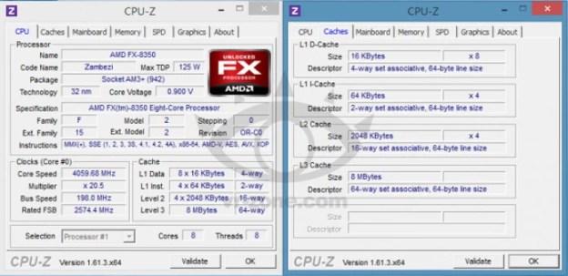 AMD FX-8350 impressa pelas especificações (Foto: Reprodução / Wccftech)