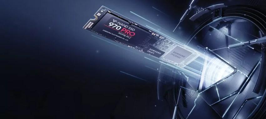 Samsung lança 970 Pro e Evo, SSDs ultrarrápidos com tecnologia V-NAND (Foto: Divulgação/Samsung)