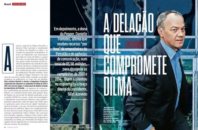 Capa da revista ISTOÉ dessa semana (Foto: ISTOÉ)
