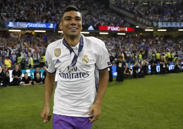 Casemiro foi formado no São Paulo, onde saiu por baixo para brilhar no Real Madrid (Foto: Reuters)