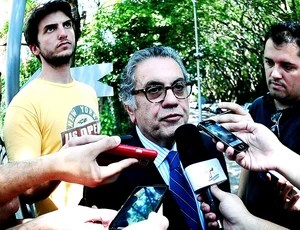 CARLOS MIGUEL AIDAR candidato presidência São Paulo (Foto: Marcos Ribolli / Globoesporte.com)