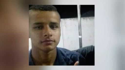 Mateus Gomes da Silva, de 19 anos, foi morto a tiros dentro de ônibus escolar na região metropolitana de Natal  — Foto: Reprodução