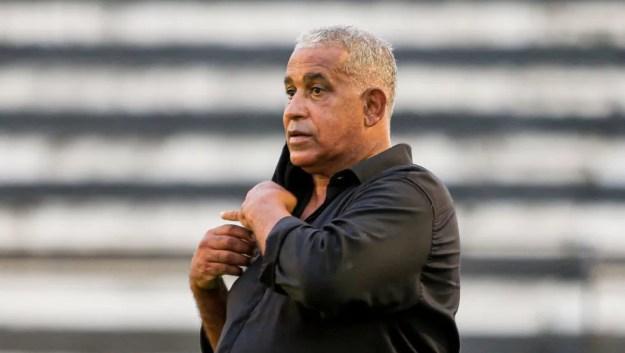 Ademir Fonseca comemora classificação para a Copa do Brasil — Foto: Ailton Cruz/Gazeta de Alagoas