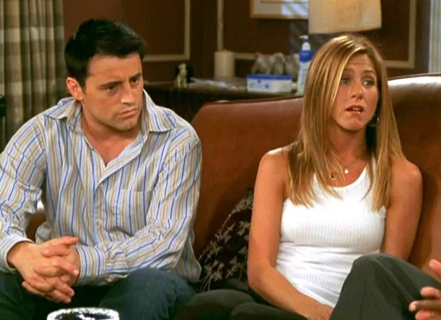 Matt LeBlanc e Jennifer Aniston (Foto: Reprodução)