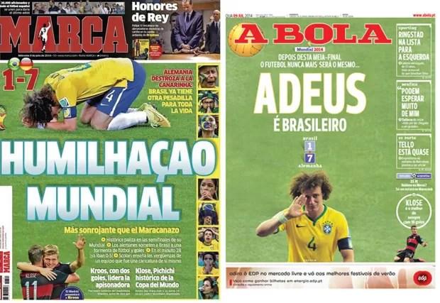 Capas Marca e A Bola  (Foto: Reprodução)