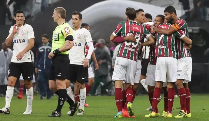 Corinthians x Fluminense (Foto: Futura Press)