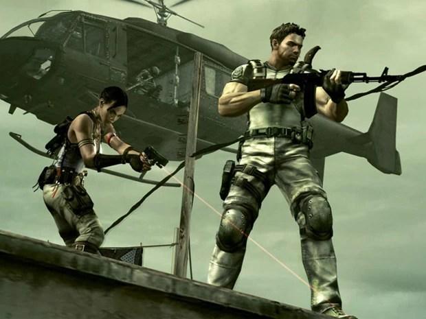 'Resident Evil 5' é o game mais popular da Capcom (Foto: Divulgação/Capcom)