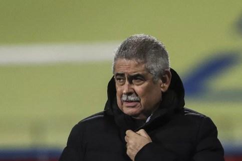 Luis Filipe Vieira é presidente do Benfica desde 2003 — Foto: Getty Images