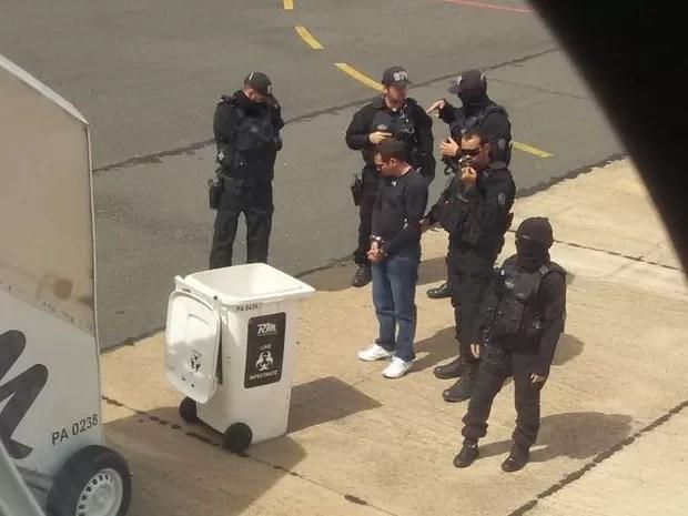 A Polícia Federal não confimou o destino do foragido (Foto: Arquivo pessoal)