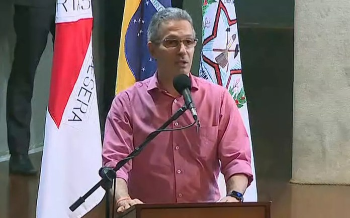 Romeu Zema (Novo), governador de Minas Gerais — Foto: Reprodução/TV Globo