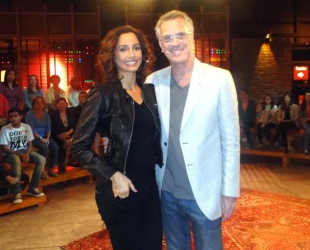 Camila Pitanga é a Dj do próximo Na Moral (Foto: Na Moral / TV Globo)