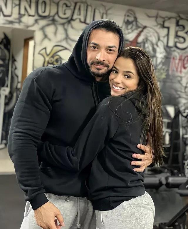 Felipe Franco e Keyla Alves (Foto: Reprodução/Instagram)