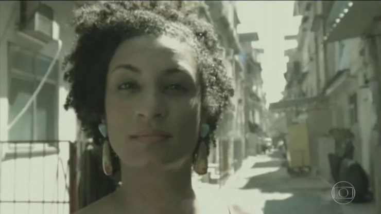 Marielle Franco (JN) — Foto: TV Globo