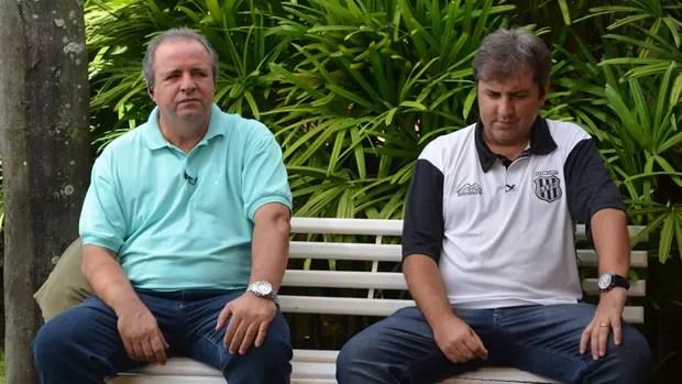 Vadão e Kleina abrem semana do dérbi com agenda de celebridades (Foto: Bruno Teixeira/ Globoesporte.com)