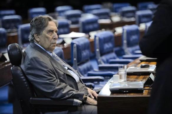 Ex-governador do Maranhão, Epitácio Cafeteira morre em Brasília (Foto: Pedro França/Agência Senado)