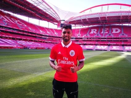 Gabigol está de saída do Benfica (Foto: Reprodução/Twitter)
