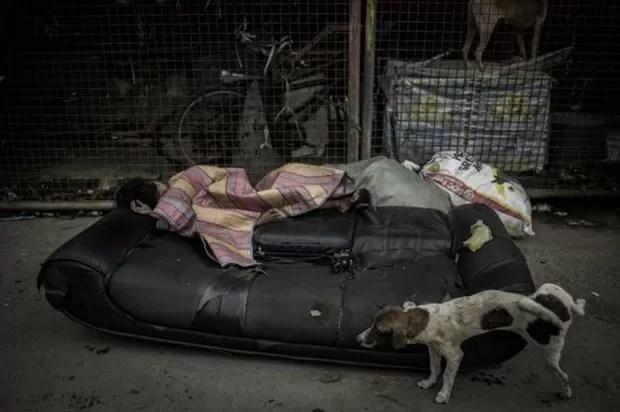 Metanfetamina é usada como uma forma de escapar da pobreza (Foto: BBC/Carlos Gabuco)