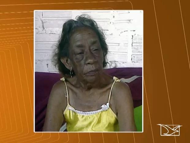 Bertilde Rodrigues de Oliveira, de 81 anos, foi estrangulada. (Foto: Reprodução/TV Mirante)
