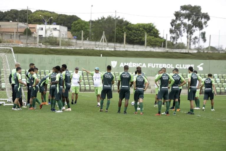 América-MG segue focado no jogo de sábado contra o Paraná — Foto: Mourão Panda/América-MG