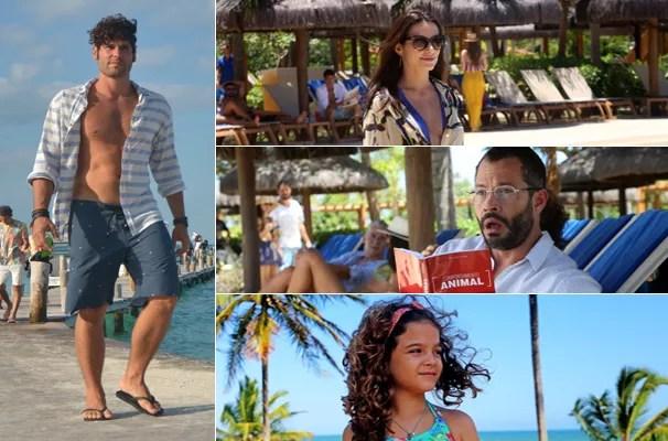 Assistir Qualquer Gato Vira-Lata 2 - Ao descobrir que o casal brigou, Marcelo faz as malas e vai para o resort (Foto: Divulgação/Globo Filmes)