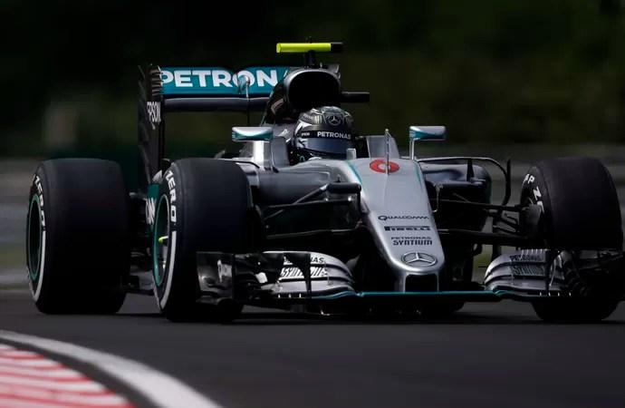 Nico Rosberg treino GP da Hungria (Foto: AP)