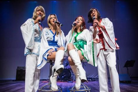 """""""The History - A Tribute Show to ABBA"""" conta com sucessos dos 40 anos do grupo (Foto: Renan Facciolo/Arquivo Pessoal)"""