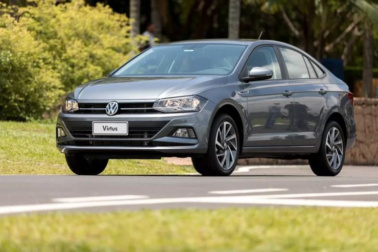 Volkswagen Virtus — Foto: Marcelo Brandt/G1