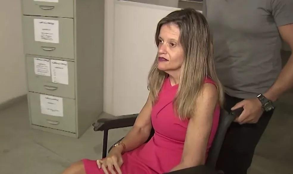Cristiane Venâncio nasceu com problemas de locomoção por causa de uma paralisia cerebral — Foto: Reprodução/TV Bahia