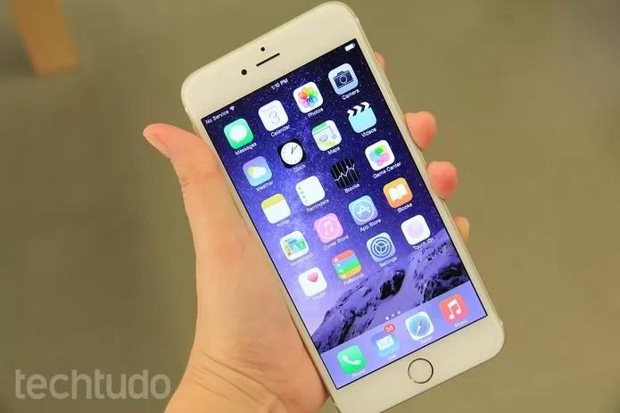 iphone-6-plus-destaque2 (Foto: iPhone 6 Plus consome duas vezes mais dados do que iPhone 6 (Foto: Anna Kellen/TechTudo))