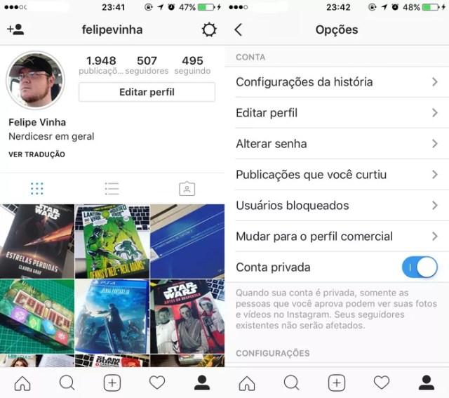 Como remover seguidores da sua conta no Instagram (Foto: Reprodução/Felipe Vinha)