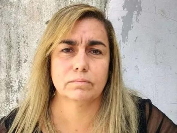 Giselma Campos foi presa em Pontal do Araguaia na manhã desta quinta-feira em Mato Grosso (Foto: Assessoria/Polícia Civil de MT)