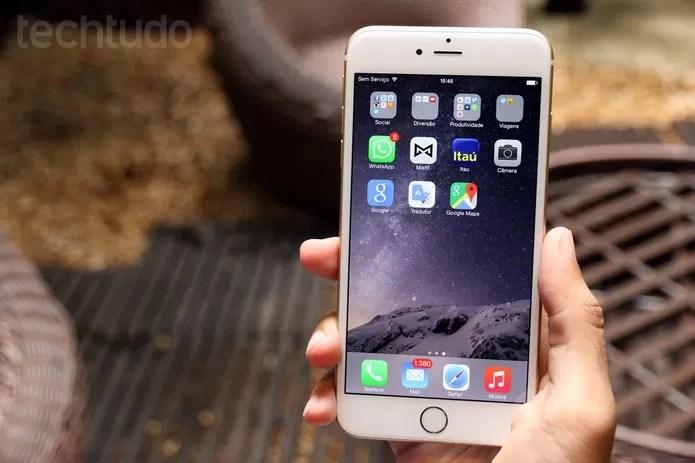 Verifique a App Store e outros aplicativos nativos do iPhone (Foto: Lucas Medes/TechTudo) (Foto: Verifique a App Store e outros aplicativos nativos do iPhone (Foto: Lucas Medes/TechTudo))