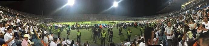 atletico medellin chapecoense (Foto: Fabricio Crepaldi / GloboEsporte.com)