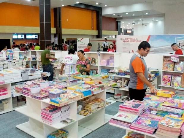 Feira Book Lovers Kids (Foto: North Shopping Fortaleza/G1/Divulgação)