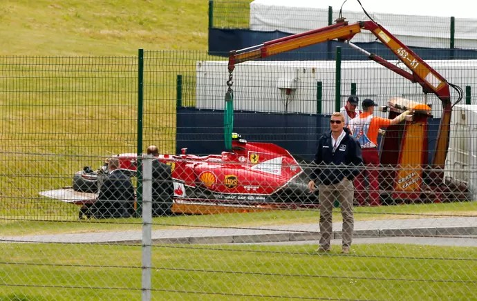 Kimi Raikkonen formula 1inglaterra silverstone (Foto: Reuters)
