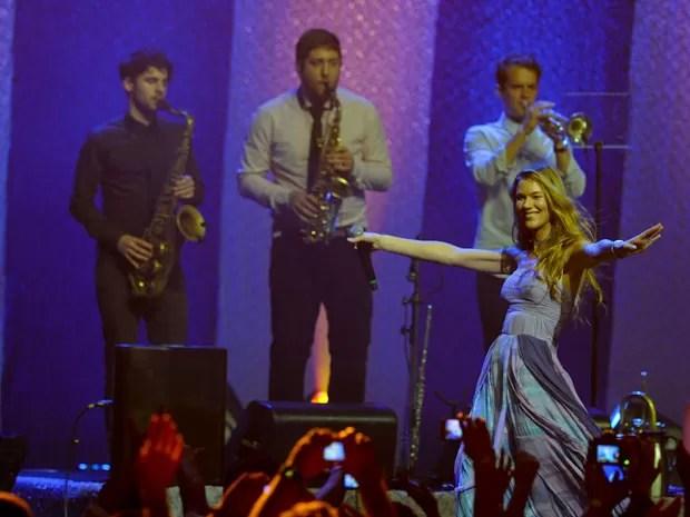 A cantora Joss Stone abre em São Paulo neste domingo a série de quatro shows que faz no Brasil em novembro de 2012 (Foto: Flavio Moraes/G1)