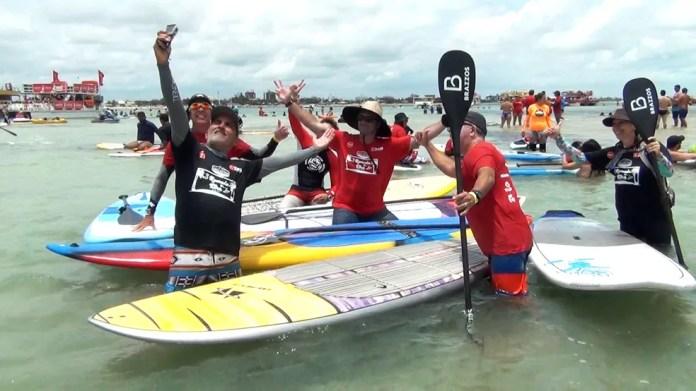 Competição promete juntar atletas de várias partes do Nordeste (Foto: Divulgação / Remada da Ilha)