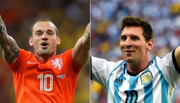 Holanda e Argentina disputam semifinal na Arena Corinthians (Foto: Reprodução FIFA/ Getty Images)