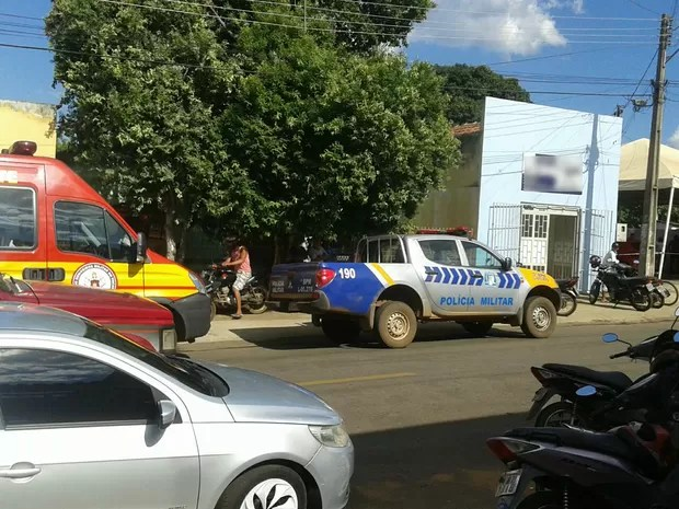 Tiroteiro assusta moradores no centro de Porto Nacional no Tocantins (Foto: Reprodução/Whats App)