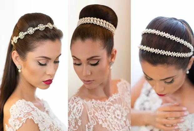 Penteados com tiaras, produção do beauty stylist Marcelo Hicho (Foto: Sabrina Vasconcelos)