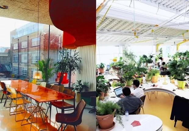 O coworking Second Home, em Lisboa (Foto: Reprodução/Instagram)