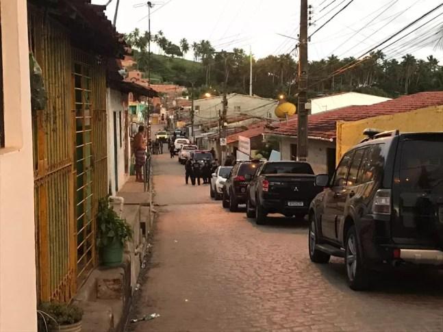 Mega operação policial cumpre 212 mandados de busca e apreensão e de prisão em Alagoas e mais 10 estados — Foto: SSP