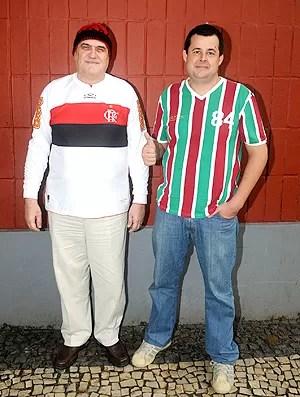 Netos dos jogadores do primeiro Fla x Flu (Foto: André Durão / Globoesporte.com)