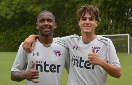 Toró e Igor Gomes são convocados para disputa da Libertadores Sub-20 (Foto:  Érico Leonan / saopaulofc.net)