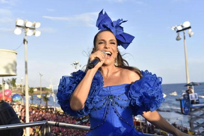 Ivete Sangalo vai animar a abertura do São João 2019 de Campina Grande — Foto: Elias Dantas/Ag. Haack