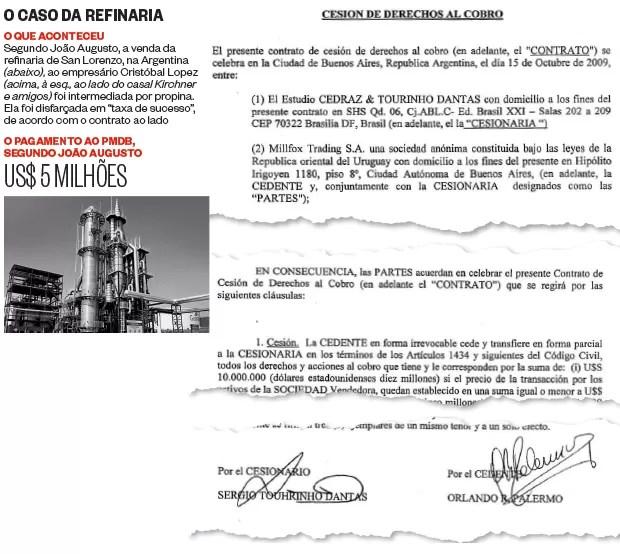 O caso da refinaria (Foto: Reprodução)