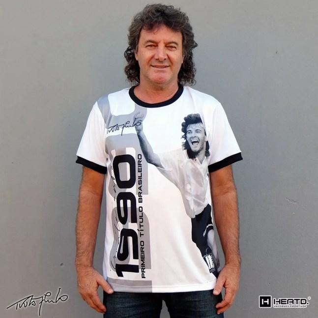 Tupãzinho, autor do gol do título do Corinthians em 1990 — Foto: Arquivo pessoal