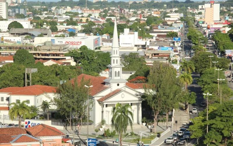 Primeira Igreja Batista de João Pessoa — Foto: Ricardo Oliveira / G1
