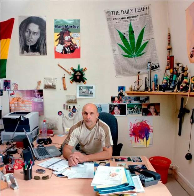 Escritório na França (Foto: Jan Banning/Divulgação)